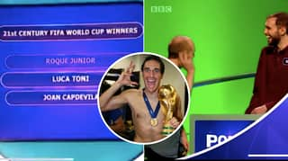 Pointless Contestant Celebrates With Luca Toni Celebration After He Wins Jackpot Prize