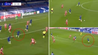 N'Golo Kante Covered The Entire Pitch In Eight Seconds Vs Atletico Madrid With Insane 'Dummy Run'
