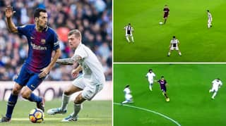 Video Shows Why There's No Point Even Trying To Press Sergio Busquets