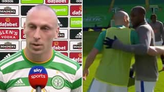 Celtic Captain Scott Brown Shows His Support For Glen Kamara With Classy Post-Match Interview