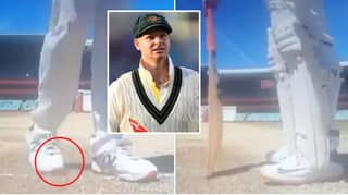 Shocking Video Catches Steve Smith In Another Cheat Scandal During Australia Vs. India Test Match