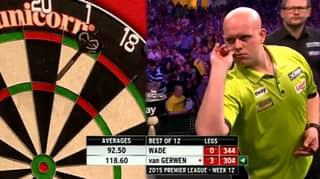 The Moment Michael Van Gerwen Threw Seventeen Perfect Darts
