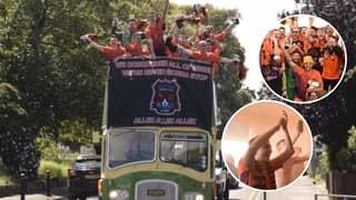 Sunday League Side Duckpond FC Celebrate Title Win By Splashing £4,000 On End-Of-Season Parade