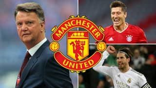 Louis Van Gaal Reveals His 10-Man Manchester United Shortlist From Time As Manager