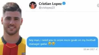 Man Messages Striker Who Won't Score For Him On Football Manager, He Actually Responds