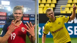 A Year Ago Today, Erling Haaland Announced Himself To The World With A 'Hat-Trick Of Hat-Tricks'