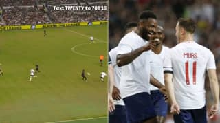 Olly Murs Produces Stunning Pass To Darren Bent At Soccer Aid