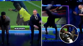 Jamie Carragher And Micah Richards Reached Peak Punditry On CBS' Champions League Coverage