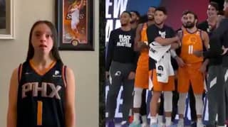 The Phoenix Suns Players Were Surprised With Heartwarming Intro Videos From Their Families