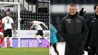 Wayne Rooney's Genius Corner Technique At Derby County Is Blowing Everyone's Minds