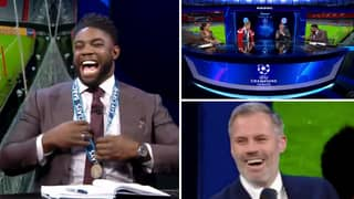 Micah Richards Gets His Premier League Winners' Medal Out To Troll Jamie Carragher