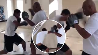 Mike Tyson's Son Is Just As Savage As His Dad After Showing His Skills On The Pads