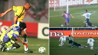 Ronaldo Nazario Scored 88 Of His Career Goals By Rounding The Goalkeeper