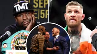 Floyd Mayweather Drops Biggest Hint Yet That He Is Training For Conor McGregor Rematch