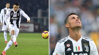 Cristiano Ronaldo Is Statistically The Second-Worst Free-Kick Taker In Serie A History
