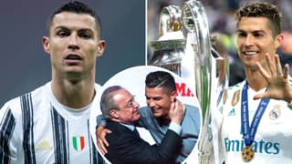 Real Madrid's Plan To 'Rescue' Cristiano Ronaldo From Juventus Has Been Revealed