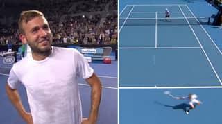 Dan Evans Hits Most Ridiculous Winner Ever In Australian Open Qualifier