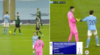 Ederson Turned Away From Penalty By Bernardo Silva After Immediately Stepping Up Against Tottenham