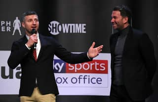 Carl Froch Outlines The Only Way Anthony Joshua Can Beat Tyson Fury