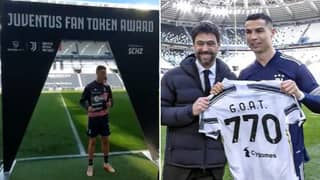 Cristiano Ronaldo Has Become The First Player To Be Rewarded With Cryptocurrency Tokens