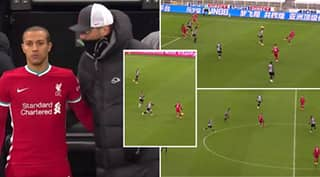 Thiago's 17 Minute Cameo For Liverpool Vs Newcastle Showed Just How Good He Is