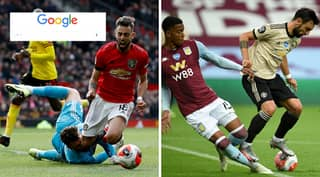 Football Fans Are Loving What Happens If You Type In 'Bruno Fernandes Dive Vs' On Google
