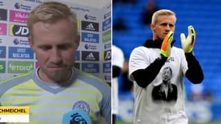 Kasper Schmeichel Gives Heartbreaking Post-Match Interview After Leicester City's Premier League Victory