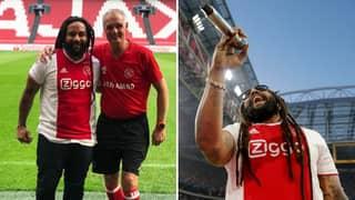 Bob Marley's Son Sang 'Three Little Birds' With Ajax Fans Last Night