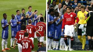 When Sir Alex Ferguson Made Chelsea Give This Starting XI A Guard Of Honour At Stamford Bridge