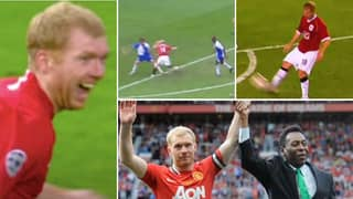 Incredible Compilation of 'Disrespected' Paul Scholes Proves He Is One Of England's Greatest Midfielders