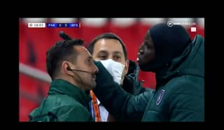 Demba Ba Confronts Official In Heated Exchange Over Alleged Racist Comment In PSG Vs Istanbul Basaksehir