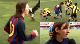 Lionel Messi's Barcelona B Debut Aged 16 Gave Glimpse Of His Amazing Skills