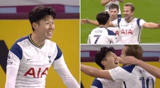 Amazing Moment Son Heung-Min Realised Harry Kane Assisted His Goal