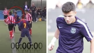 Manchester United's New Signing Marc Jurado Holds Record For The Fastest Youth Goal Ever Scored