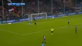 Dries Mertens Perfect Touch Leads Him To Brilliant Goal