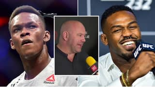 UFC President Dana White Reacts To Twitter War Between Jon Jones And Israel Adesanya