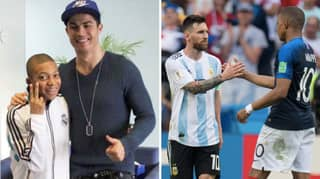 Kylian Mbappe Asked Who He'd Choose Between Lionel Messi And Cristiano Ronaldo In His Team