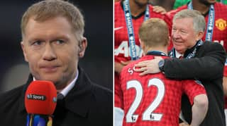 Paul Scholes Reveals The One Club Who Tried To Sign Him From Manchester United