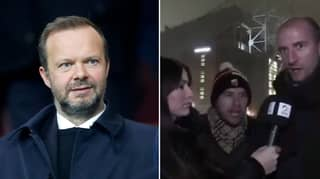 Manchester United Fan Calls Ed Woodward The 'C' Word Live On TV
