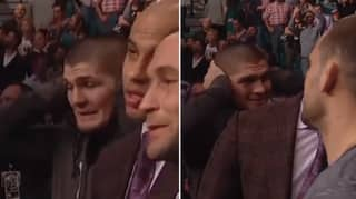 How Khabib Nurmagomedov Reacted To Conor McGregor's Knockout Of Jose Aldo