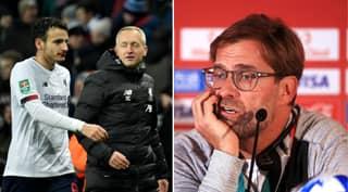 Jurgen Klopp's Message To Liverpool's Team Last Night When They Were 4-0 Down