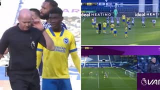 West Bromwich Albion Saved By VAR And Referee Farce Against Brighton