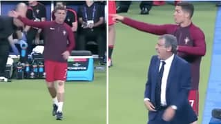 When Cristiano Ronaldo Became Portugal Coach In Euro 2016 Final