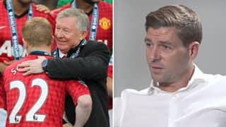 Steven Gerrard's Response To Sir Alex Ferguson Saying He Wasn't 'A Top, Top Player'