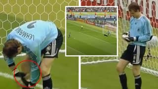 On This Day In 2006, Jens Lehmann Pulled The 'Cheat Sheet' From His Shin-Pad For Every Penalty Of Shoot-Out