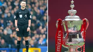 Michael Oliver Named As Referee For The FA Cup Final