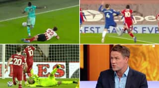 Sadio Mane Refused To Go Down For Penalty Again After Michael Owen's Bizarre Theory