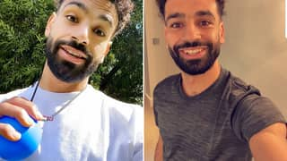 Mohamed Salah Shows Off His Brand New Look - Ditches The Iconic Afro