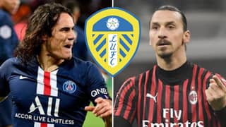 Leeds Owner Responds To Rumours Club Will Sign Zlatan Ibrahimovic And Edinson Cavani