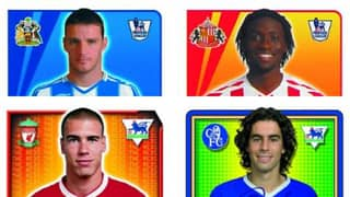 QUIZ: Can You Name The Players From Their Classic Premier League Sticker?